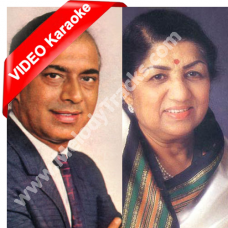 Sab Kuch Luta Ke Hosh Mein - Mp3 + VIDEO Karaoke - Talat Mehmood - Lata