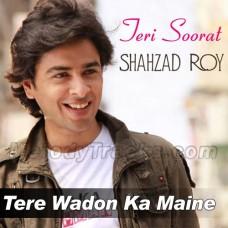 Tere Wadon Ka Maine Aitbaar - Karaoke Mp3 - Shehzad Roy