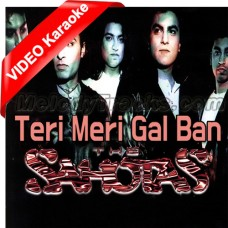 Teri Meri Gal Ban Gayi - Mp3 + VIDEO Karaoke - Surj Sahota