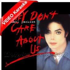 They Don't Care About Us - English - Mp3 + VIDEO Karaoke - Michael Jackson