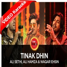 Tinak Dhin - Mp3 + VIDEO Karaoke - Ali Sethi - Coke Studio - Season 10