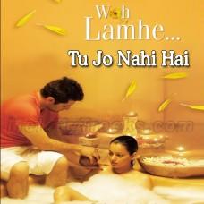 Tu Jo Nahi Hai To - Karaoke Mp3 - Glenn John - Woh Lamhe
