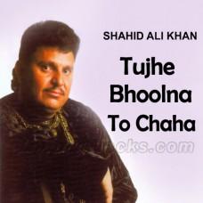 Tujhe Bhoolna To Chaha - Karaoke Mp3 - Shahid Ali Khan - Cover Attaullah