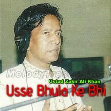 Usse Bhula Ke Bhi - Karaoke Mp3 - Ustad Zakir Ali Khan
