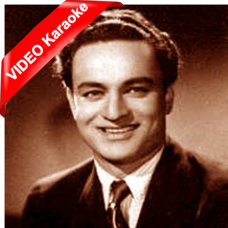 Mujhko is raat ki - Mp3 + VIDEO Karaoke - Mukesh