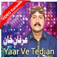 Yaar Ve Tedian Ae Tasveeran - Mp3 + VIDEO Karaoke - Irfan Khan Malangi - Saraiki - Sindhi