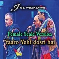 Yaaro Yehi Dosti Hai - Female Scale Version - Karaoke Mp3 - Junoon Band
