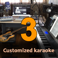 Three Customized Karaoke Tracks - High Quality
