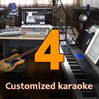 Four Customized Karaoke Tracks - High Quality