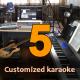 Five Customized Karaoke Tracks - High Quality