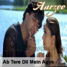Ab Tere Dil Mein - Karaoke Mp3 - Kumar Sanu - Alka - Aarzoo