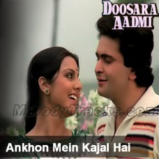 Aankhon Mein Kajal Hai - Karaoke Mp3 - Kishore - Doosara Aadmi
