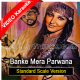 Banke Mera Parwana - Standard Scale Version - Mp3 + VIDEO Karaoke - Mala Begum - Farangi