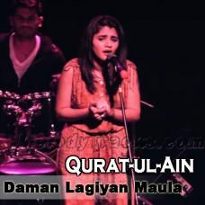 Daman Lagiyan Maula - Karaoke Mp3 - Quratulain Balouch - Female Ver