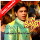 Dastaan E Om Shanti Om - Mp3 + VIDEO Karaoke - Shaan
