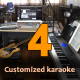 Four Customized Karaoke Tracks - High Quality