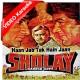 Haan Jab Tak Hain Jaan - Mp3 + VIDEO Karaoke - Lata - Sholay