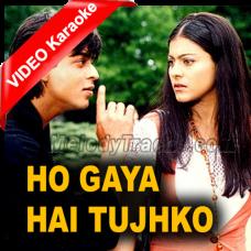 Ho gaya hai tujhko to - Mp3 + VIDEO Karaoke - Udit - Lata mangeshkar - Dilwale Dulhania Le Jayenge