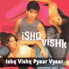 Ishq Vishq Pyar Vyar - Karaoke Mp3 - Ishq Vishq - 2003 - Kumar Sanu - Alka