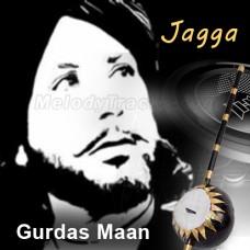 Jagga - Karaoke Mp3 - Gurdas Maan - Punjeeri