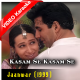 Kasam Se Kasam Se - Mp3 + VIDEO Karaoke - Udit - Alka - Jaanwar - 1999