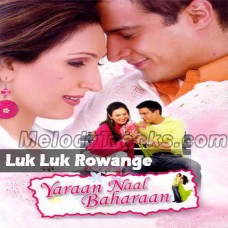 Luk Luk Rowange - Karaoke Mp3 - Babu Maan - Yara Nal Bahan