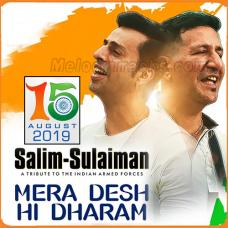 Mera Desh Hi Dharam - Karaoke Mp3 - Salim Sulaiman - Independence Day Special