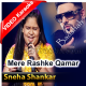 Mere Rashke Qamar - Mp3 + VIDEO Karaoke - Sneha Shankar and Baadshah, Voice India Kids