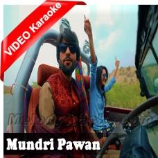 Mundri Pawa - Mp3 + VIDEO Karaoke - Zeeshan Rokhri - Saraiki - Sindhi