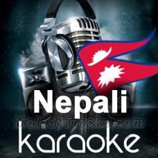 Luki Luki Bhagi Bhagi - Nepali - Karaoke Mp3 - Kumar Sanu - Sadhna