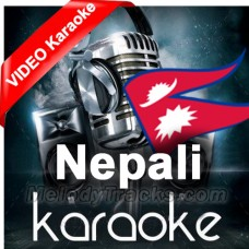Deiba Sanjog Le Baisa Ko - Mp3 + VIDEO Karaoke - Nepali