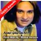 Pehli Wari Ajj Inha Akhiyaan Ne - Mp3 + VIDEO Karaoke - Amir Gulam Ali