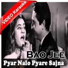 Pyar Nalon Pyare Sajna - Mp3 + Video Karaoke - Noor Jahan