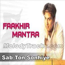 Sab Ton Sonhiye - Karaoke Mp3 - Faakhir Mantra