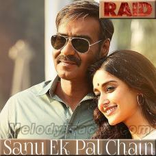 Sanu Ek Pal Chain - Raid - Karaoke Mp3 - Rahat Fateh Ali