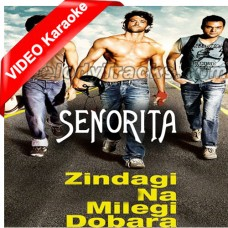 Senorita - Zindagi Na Milegi Dobara - Mp3 + VIDEO Karaoke - 2011