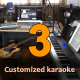 Three Customized Karaoke Tracks - High Quality