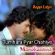 Tumhara Pyar Chahiye Mujhe - Karaoke Mp3 - Manokaamna - Bappi Lahiri