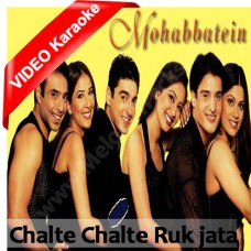 Chalte chalte ruk jata hoon - Mp3 + VIDEO Karaoke - Shweta Pandit, Sonali Bhatawdekar & Others