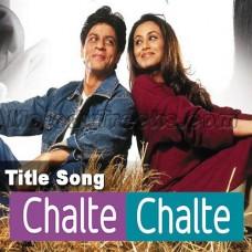 Chalte chalte - Karaoke Mp3 - Abhijeet - Alka