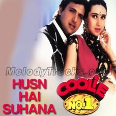 Husn hai suhana - Karaoke Mp3 - Coolie No1 - Abhijeet - Chandana