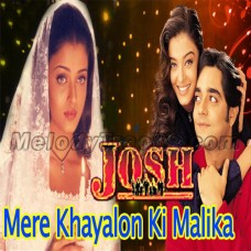 Mere khayalon ki malika - Karaoke Mp3 - Josh (2000) - Abhijeet