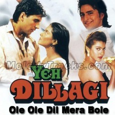 Ole ole dil mera bole - Karaoke Mp3 - Ye Dillagi (1994) - Abhijeet