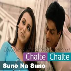 Suno na suno na - Karaoke Mp3 - Chalte Chalte - Abhijeet
