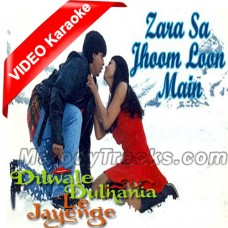 Zara sa jhoom loon main - Mp3 + VIDEO Karaoke - Abhijeet - Asha Bhonsle