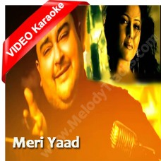 Meri yaad - Karaoke Mp3 + VIDEO - Adnan Sami