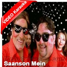 Saanson mein meri - Karaoke MP3 + VIDEO - Adnan Sami