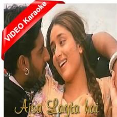 Aisa lagta hai - Mp3 + VIDEO Karaoke - Refugee (2000) - Sonu Nigam - Alka