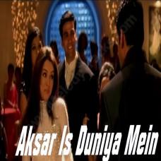 Aksar is duniya mein - Karaoke Mp3 - Dhadkan - Alka Yagnik