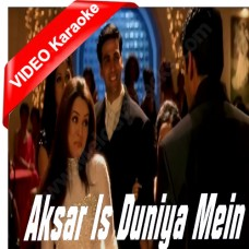Aksar is duniya mein - Mp3 + VIDEO Karaoke - Dhadkan - Alka Yagnik